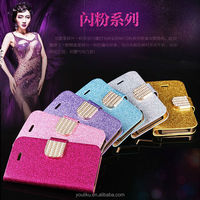 Bling Glitter Shining Power Sex Girl Mobile Phone wallert diamond metal case for samsung galaxy S3 I9300