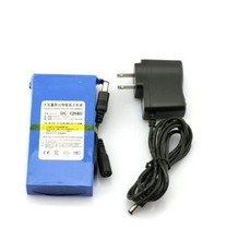 DC 12V 6800mah Rechargeable Lithium ion polymer battery pack for GPS, LED Light,CCTV Camera
