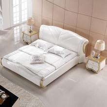 2015 Hot sale home furniture modern round bed designs