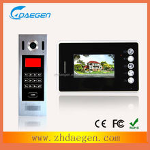 competition 4+2wire video door phone with photo memory