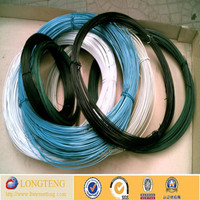 cheap price wreath pvc coated wire