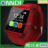 High quality smart watch phone support camera pedometer watch phone for android and ios samrt watch 2015