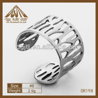 Fashion high quality crazy design stainless steel ring