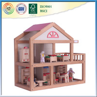 Design wooden house child as favorite play house baby room