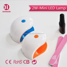 Mouse shape UV Gel led lamp dryer with USB for one finger gel curing