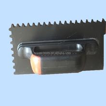 DT009 New Type Rubber Handle Flat Plastering Trowel/Plaster Trowel