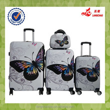 Popular Brand Aluminum Trolley Spinner Wheel Low Factory Price ABS+PC Trolley Luggage Bag