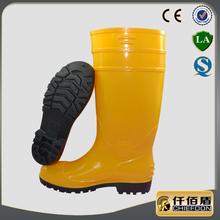 nero pvc sicurezza pioggia stivali per uso industriale e la mia