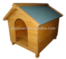 Waterproof Wood Dog House / Outdoor Wooden Puppy Dog Kennel / Pet Cage