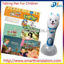 new products Fairy Tales Baby learning talking pen with Spanish