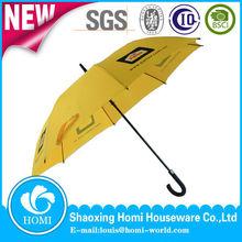 BSCI audit factory Promotion Straight /hook Handle Cheap Golf Rain Umbrella