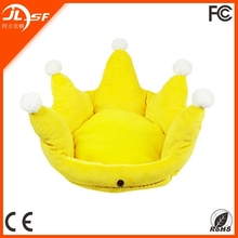 High quality crown shape for small dog bed funny dog beds wholesale dog beds
