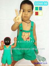 Thai Boy&girl cotton children's clothing elephant design