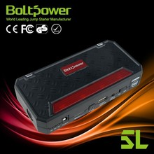 BOLTPOWE Li-lon rechargeable car emergency launch power with w/12,000mAh Capacity power bank&w/Boost of 400 Amps