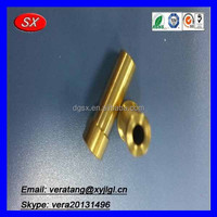 OEM threaded brass tube ,threaded copper tube from Dongguan