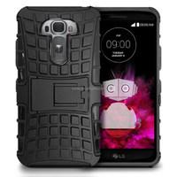 Rugged kickstand Shockproof Hard Case For LG G Flex 2