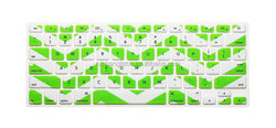 Silicone material and dustproof, waterproof function for macbook silicone keyboard cover