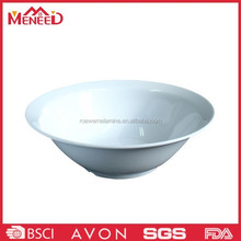 White color popular on hotel and restaurant plastic melamine sauce bowl