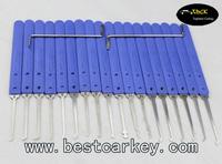 Best price 18pcs lock pick set(klom) wholesale locksmith supplies