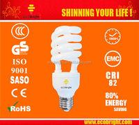 HOT! T4 Half Spiral Energy Saving Light Bulb 20W 10000H CE QUALITY
