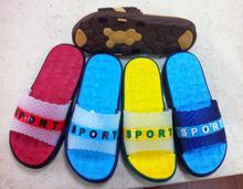 Wholesale Women EVA slippers flat loafers nude beach slippers