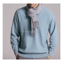9gg Cable knitted Men's 100% cashmere sweater/pullover