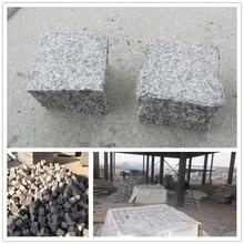 Light Grey Dark Grey Black Granite Cobbles
