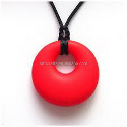 New style hot selling silicone chew beads pendant
