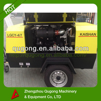 7 Bar Mining Used Portable Diesel Engine Driven Air Compressor