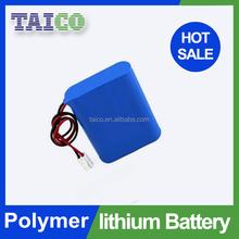 Customized high power li ion polymer battery pack 7.4v 850mah