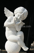angel carving statues, stone carving