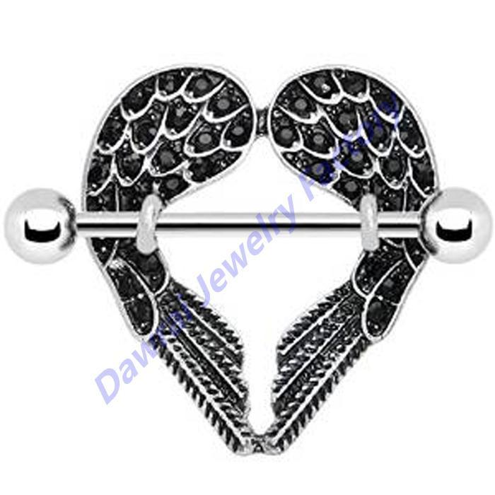 Wings Shield of Steel Angel Wings Nipple Shield