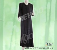 KSH W038 plain dubai lightweight black style embroidery fashion arabic women abaya