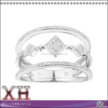 Fancy Silver Fashion Jewelry Made in China Wholesale Ring