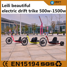 500w-1500w electric drift trike