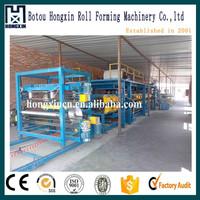 aluminium plastic /color steel composite panel production line