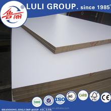 17mm MDF board with e2 glue 730kg/m3 density