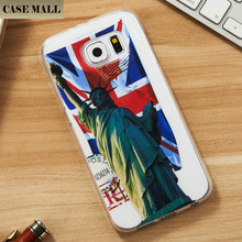 New Custom Protective TPU Bumper Back Clear For Samsung Galaxy S6 Case Cover Factory
