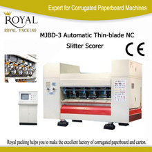 Carton Cardboard Thin Blade Slitter Scorer Machine