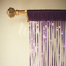 High Quality Metal Sliding String Curtain With Sequins