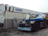 Kato 25ton rough cranes for sale, dealers for used Kato cranes in China