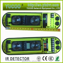 YK-QH2-60 infrared and microwave alarm motion detector, IR beam detector