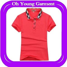 red 100%cotton wholesale fashion newstyle plain Cheap brand man tshirt China manufacturers