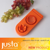 New Design Egg&fruit Chopper egg tool Stainless Steel Handle Six Equal Parter