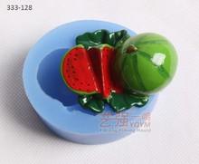 watermelon shaped silicone cake mould,silicone cake mould fruit,funny shape silicone cake mould