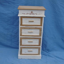 Old Fashion Wood Bathroom Cabinets with Four Chests