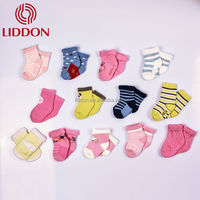 Lovely style terry loop baby thick cotton socks China wholesale for girls and boys