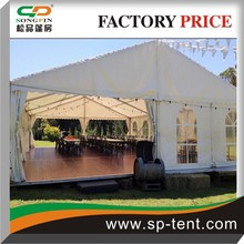 luxury Wedding ceremony tents for events with lining and floor system in sale