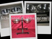 metal pet feeder ,dog feeder, pet bowl
