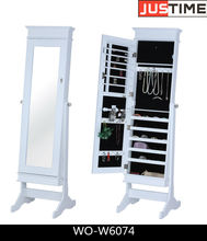 JEWELRY MIRROR CABINET BEDROOM FURNITURE ARMOIRE DE BIJOUX, WOODEN FURNITURE